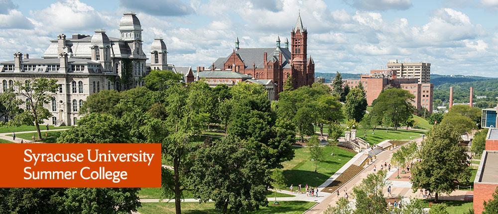 Summer College at Syracuse University